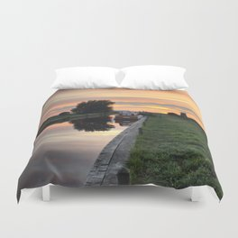 West Somerton Sunset Duvet Cover