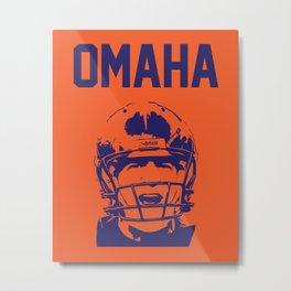 OMAHA Metal Print