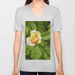 Floral Print 042 Unisex V-Neck