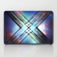 sci fi iPad Cases featuring Sci-Fi Shards by Alli Vanes