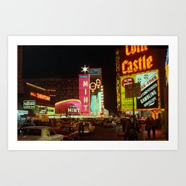 Las Vegas 1980 #6 Art Print