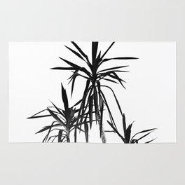Palm Trees - White Cali Summer Vibes #1 #decor #art #society6 Rug