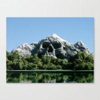168. Skull Mountain Canvas Print