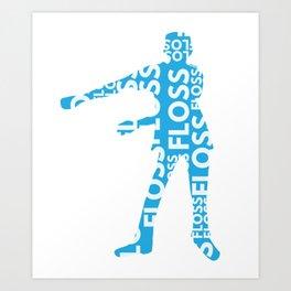 Floss Dance Move Art Art Print