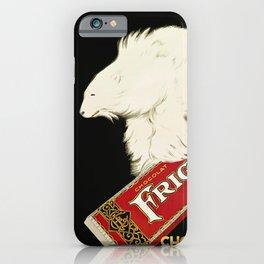 Polar Bear vintage chocolate bar ad iPhone Case