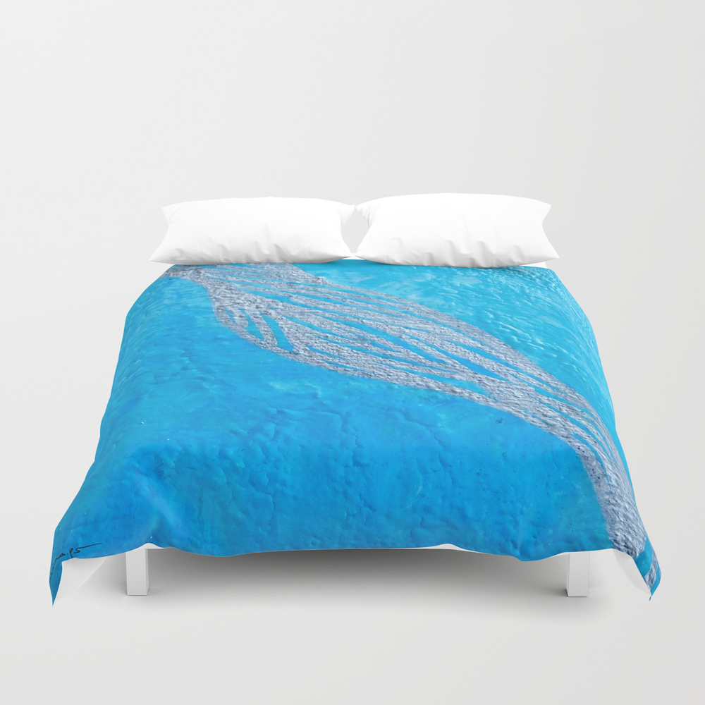 Blue Cup Duvet Cover by Neenaps DUV8430746