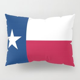 Texas State Flag, Authentic Version Pillow Sham