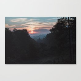 Sunrise Over Athens, Ohio Canvas Print