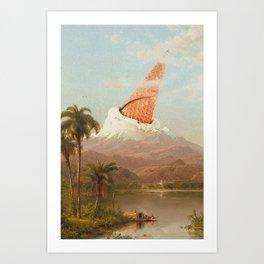 MOUNT VANILLA Art Print