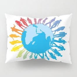 Earth and people Pillow Sham