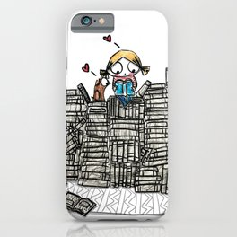 """Book Lover"" iPhone Case"