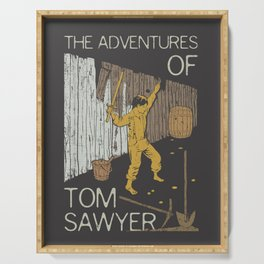 Books Collection: Tom Sawyer Serving Tray