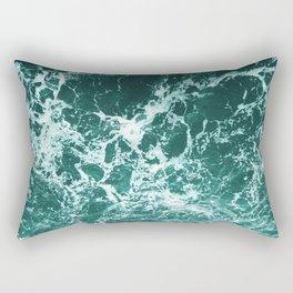 Upside Down Sea Water Splash Rectangular Pillow