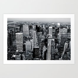 NYC - Big Apple Art Print