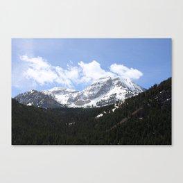 Mt Timpanogos Canvas Print