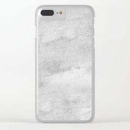 Concrete 017 Clear iPhone Case