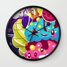 Sundae Sunset Wall Clock