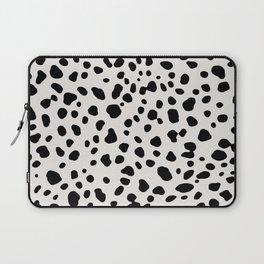 Polka Dots Dalmatian Spots Laptop Sleeve