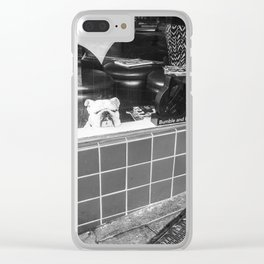Bored Dog Clear iPhone Case