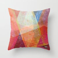 prism Throw Pillows featuring Prism by Zeke Tucker