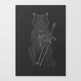 Dark Souls - Sif Canvas Print