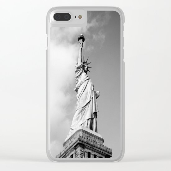 Lady Liberty - NYC Clear iPhone Case