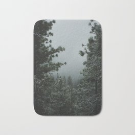 Backwoods Winter: Ponderosa Pines, Washington Bath Mat
