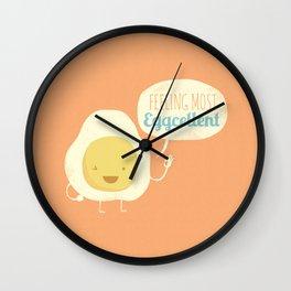 Most Eggcellent Wall Clock