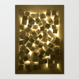 3D What Burns in Your Box? Canvas Print