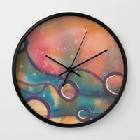 dune Wall Clocks featuring Dune by Angelina Yvette
