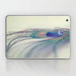 Peacock Drop Laptop & iPad Skin