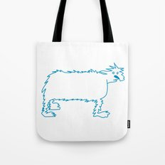 Ice Dog Tote Bag