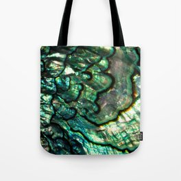 Shimmering Green Abalone Mother of Pearl Tote Bag
