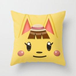 Animal Crossing Katie Throw Pillow