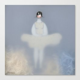 Dona d'aigua VI Canvas Print