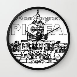 Congress EPIC FAIL Wall Clock