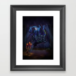 Elliots Scare by Topher Adam 2017 Framed Art Print