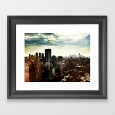New York by iPhone 2 Framed Art Print