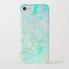 Light Blue Opal iPhone Case
