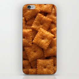 Cheese Crackers iPhone Skin