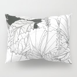 Hibiscus meets Pandanus (St. Damien 11) Pillow Sham