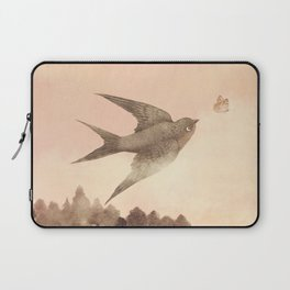 Sunset Swallow Laptop Sleeve