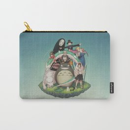 Ghibli: Bliss in Light Carry-All Pouch