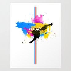cmyksplat Art Print