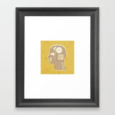 THE NEW HUMAN Framed Art Print