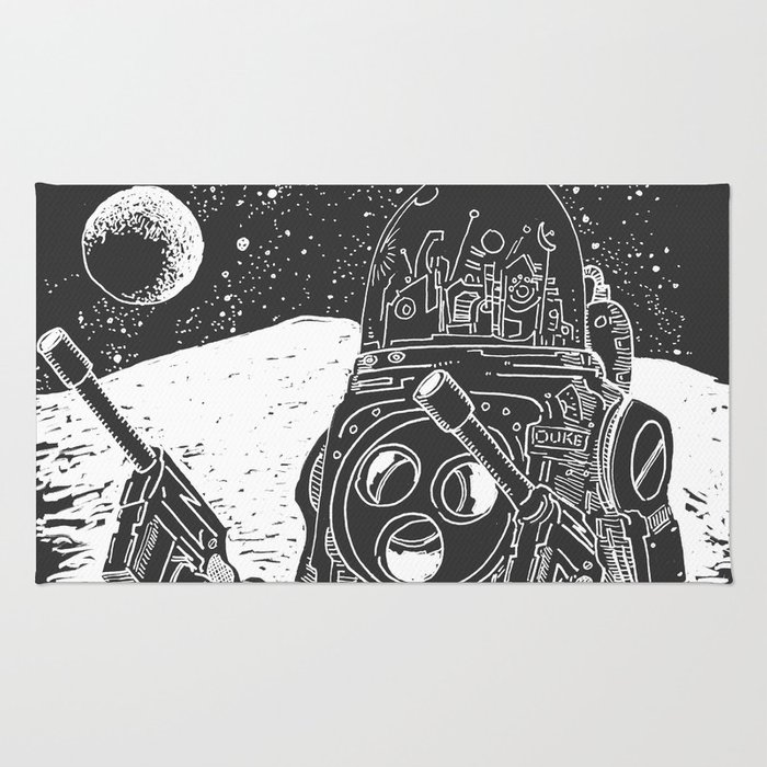 Duke of the Moon Rug