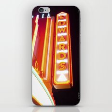 Edward's Marquee iPhone & iPod Skin