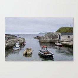 Ballintoy Harbour Canvas Print