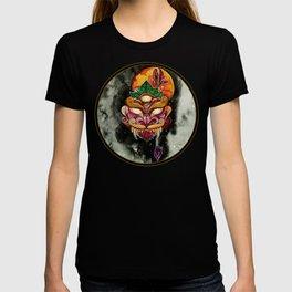 Blood Moon Mask T-shirt