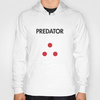 predator Hoodies featuring Predator  by NotThatMikeMyers